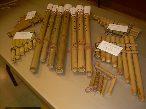 Native American Flutes and Panpipes at the Texas Bamboo Festival