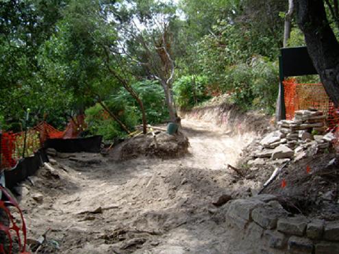 Construction Of Laurenu0027s Trail, Taniguchi Japanese Garden, Zilker Botanical  Garden, Austin, TX